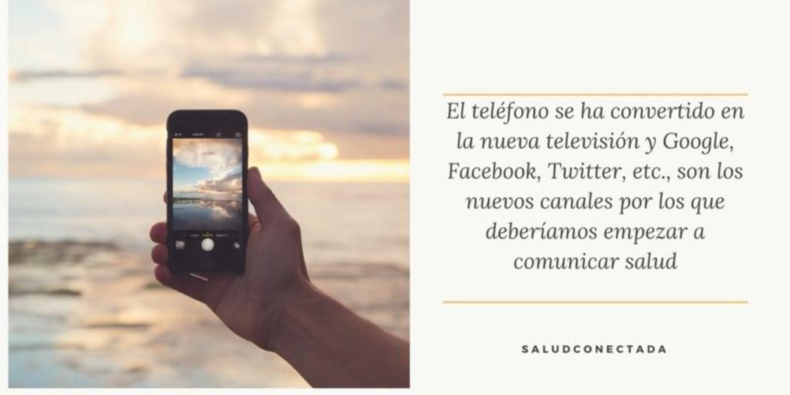 El teléfono: el nuevo mando a distancia de nuestra salud